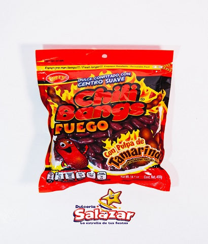 "CHILI BANGS FUEGO -B.400G.- ""C/25/1"""