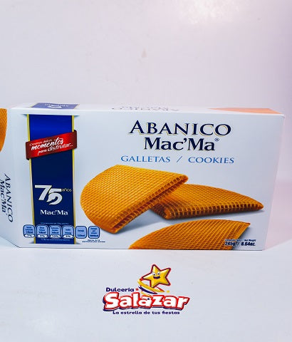 "GALLETA MAC MA ABANICO -D.245G- ""C/12/245G"""