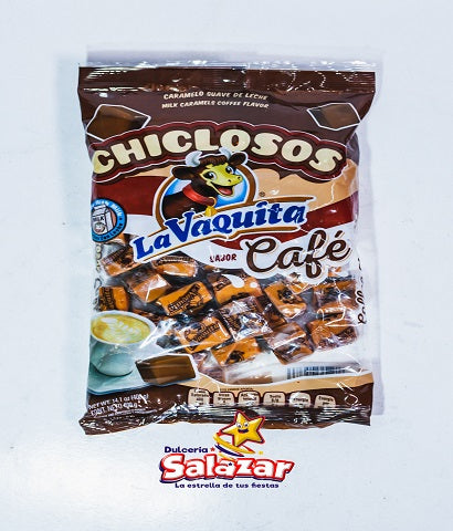 "CHICLOSO VAQUITA CAFE CANELS -B.400G.- ""C/20/1"""