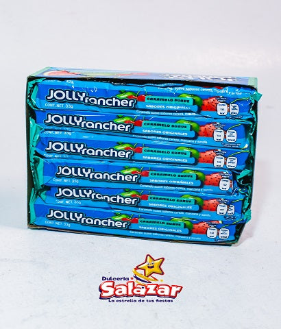 "JOLLY RANCHER CARAMELO SUAVE -D.396 G- ""C/20/12"""