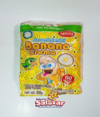 "BANANA CREMA MINI MINI ALTEÑO -B.300G.- ""C/32/60"""