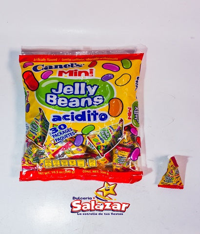 "JELLY BEANS MINI TRIANGULO CANELS -B.300G.- ""C/16/30"""