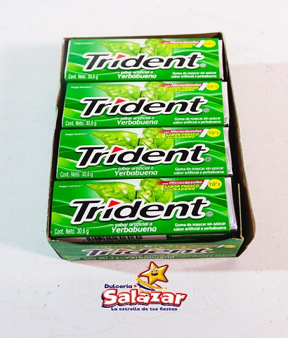 "TRIDENT VALUPACK YERBABUENA -D367,2G ""C/12/12"""
