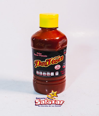 "SALSA DON VASCO NEGRA -BOT.-360ML ""C/24/360ML"""