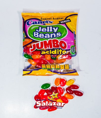 "JELLY BEANS JUMBO ACIDITO CANELS -B.454G.- ""C/24/1"""