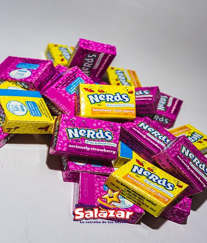 "WONKA MINI NERDS FRESA/LIMONADA/CEREZA -V680GR-""C/6/50-""PZA-"""