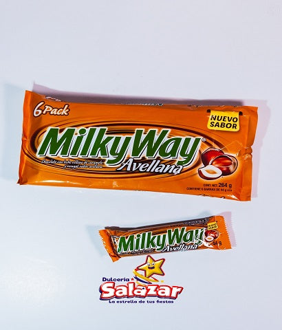 "MILKY WAY AVELLANA SIX PACK -B.264G.- ""C/32/6"""