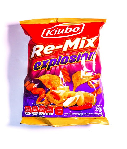 "KIUBO RE-MIX EXPLOSION GONAC B.-350GR.- ""C/8/10"""