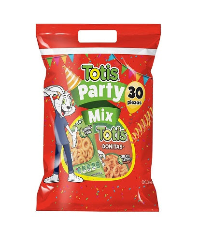 "TOTIS MEGA PARTY MIX -BOL.-30'P- ""B/10/30"""