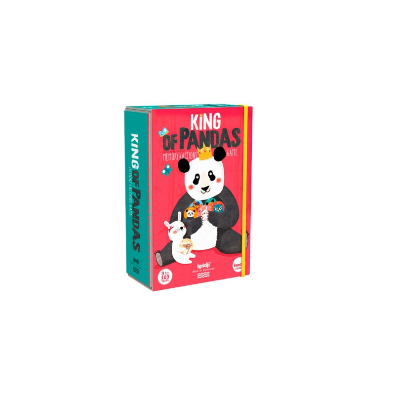 JEU - MEMO KING OF PANDAS