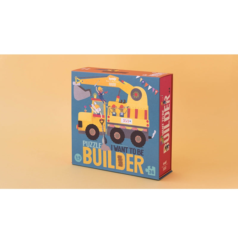 I WANT TO BE ... BUILDER! - PUZZLE
