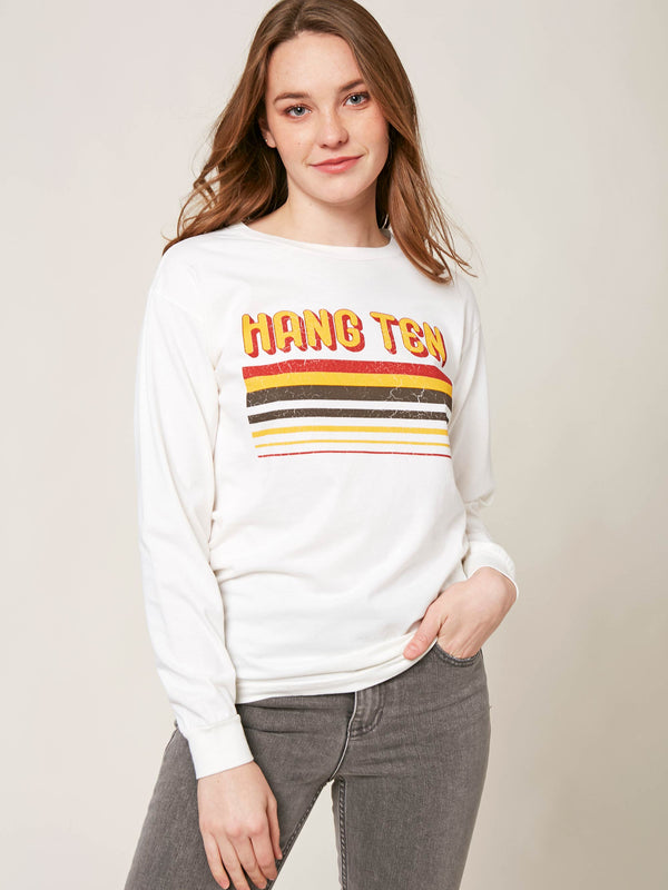 H10 Stripes Long Sleeve Tee