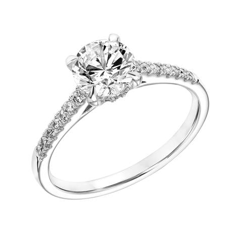 0.48ctw Diamond Ring - White Gold