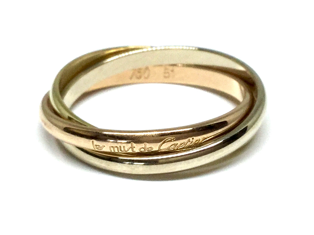 Cartier Trinity Rolling Ring - Three Tone