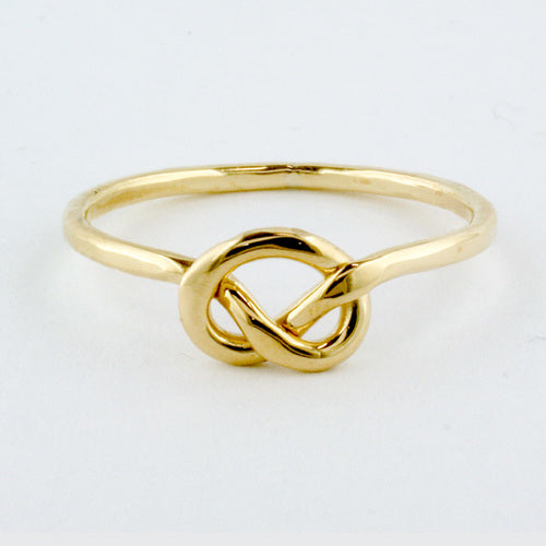 Little Knot Ring - Yellow Gold