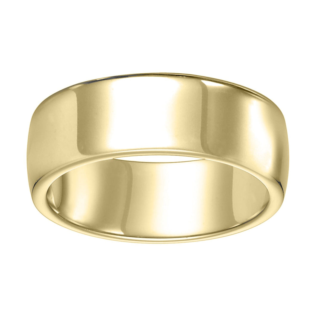 Ergo Style Band 8mm - Yellow Gold