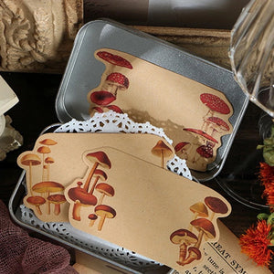 Mushroom Forest Decorative Papers
