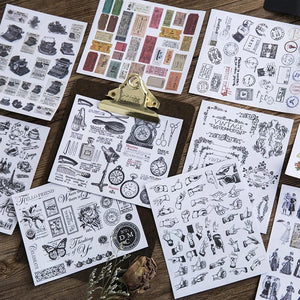 Ancient Ways Stickers & Decorative Papers Set