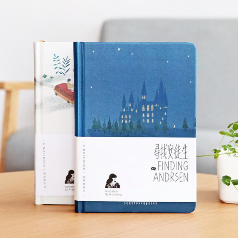 Finding Andrsen Hardcover Notebook