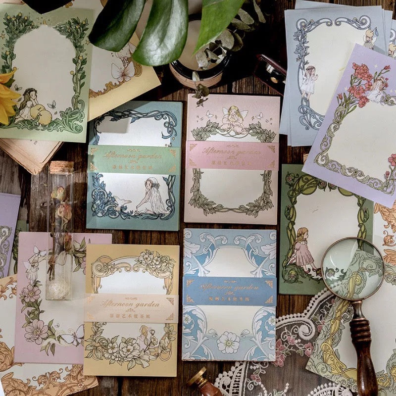 Afternoon Garden Decorative Papers