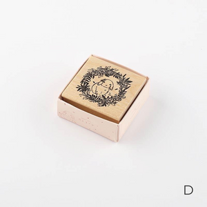 Sweet Rabbit Wooden Stamp