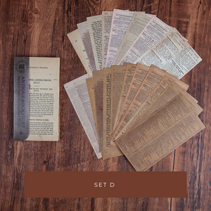 Antique Bookstore Decorative Papers
