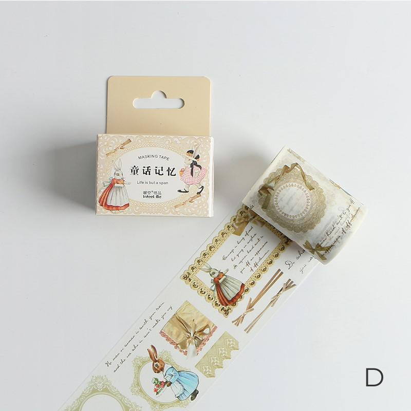 Romantic Poetry Washi Tapes