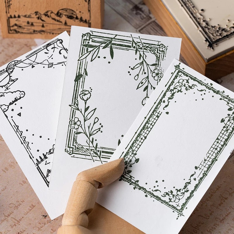 Fairytale Wooden Stamp