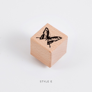 Insect Life Wooden Stamp