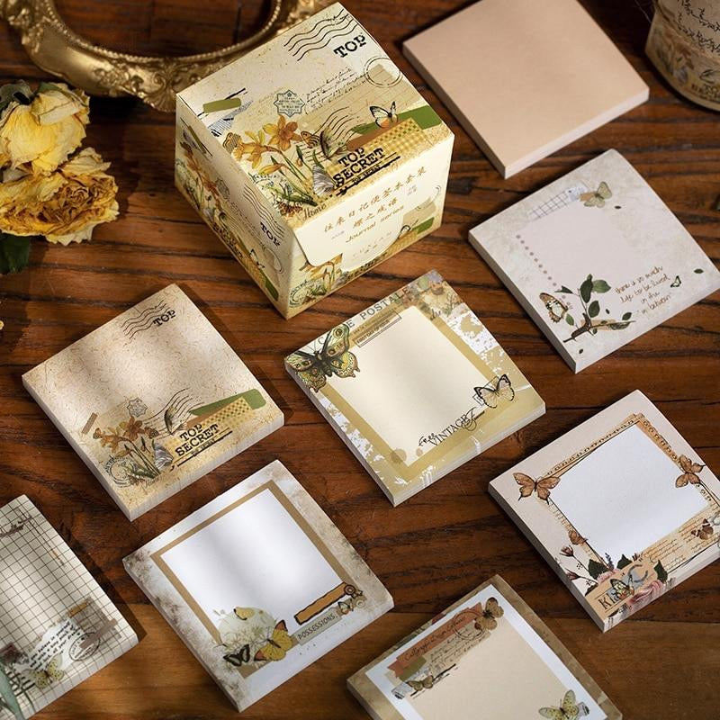 Old Nature Memo Pads - Set of 8