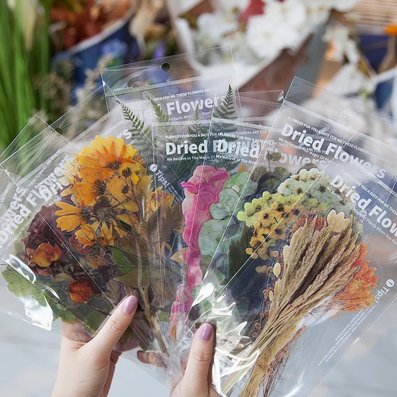 Dried Flowers Sticker Set