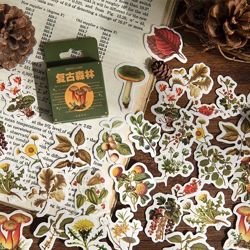 Autumn Forest Sticker Set