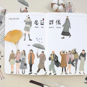 Stylish Life Sticker Set