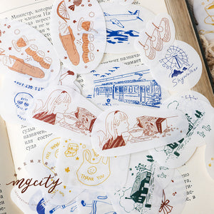 Dreamland Sticker Set
