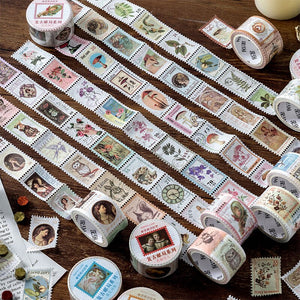 Postal Stamp Sticker Roll