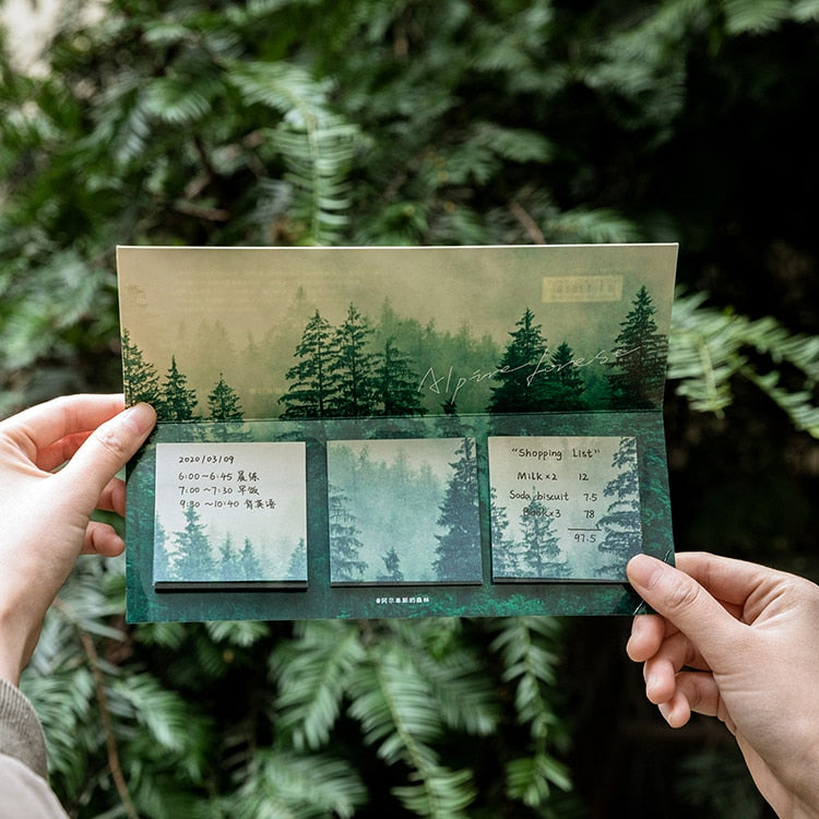 Whimsical Nature Sticky Notes