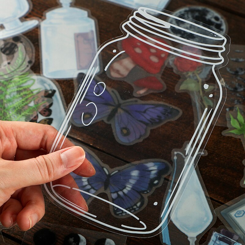 Nature In A Jar Sticker Set