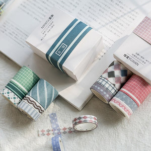 Classic Shapes Washi Tapes - Set of 6