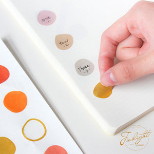 Circles Sticker Set
