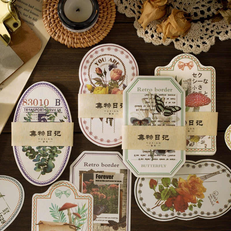 Natural Diary Decorative Papers