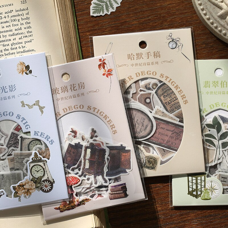 Victorian Era Sticker Set