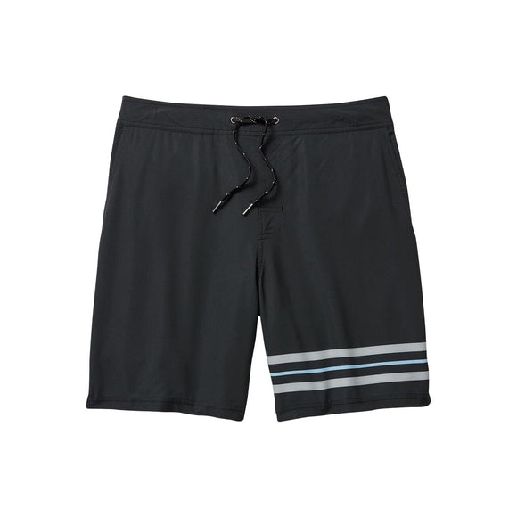 Fair Harbor Black Striped Ozone