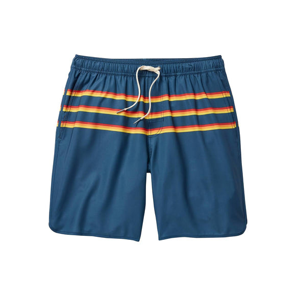 Fair Harbor Rainbow 3 Stripe Anchor Boardshort