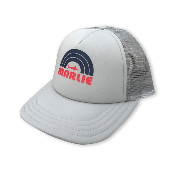 Grey Foam Marlie Sun Trucker Hat