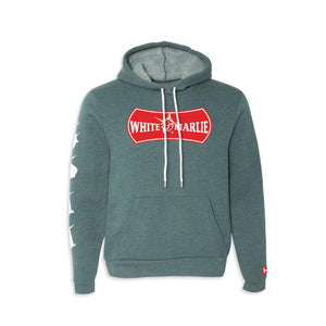 Heather Teal Hoodie Small