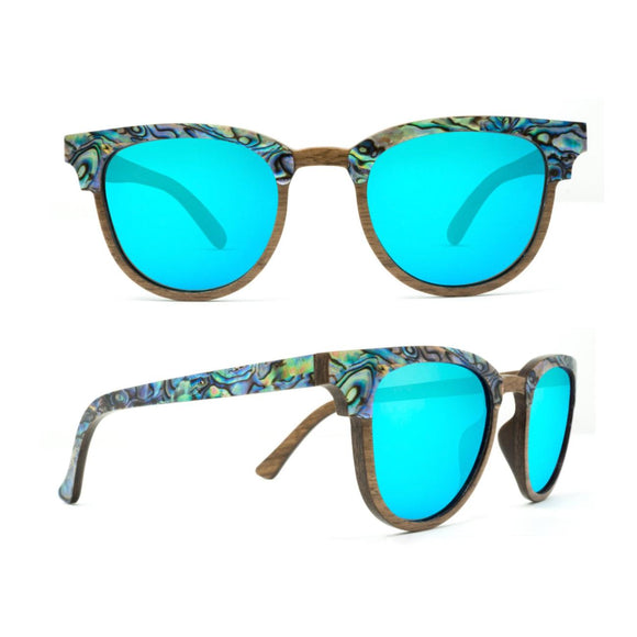 SLYK Sunglasses-Beachcomber-Abalone Seashell