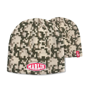 Stone+Surplus+White Digital Camo Beanie