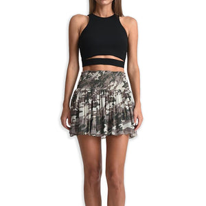 Texas Camo Mini Skirt