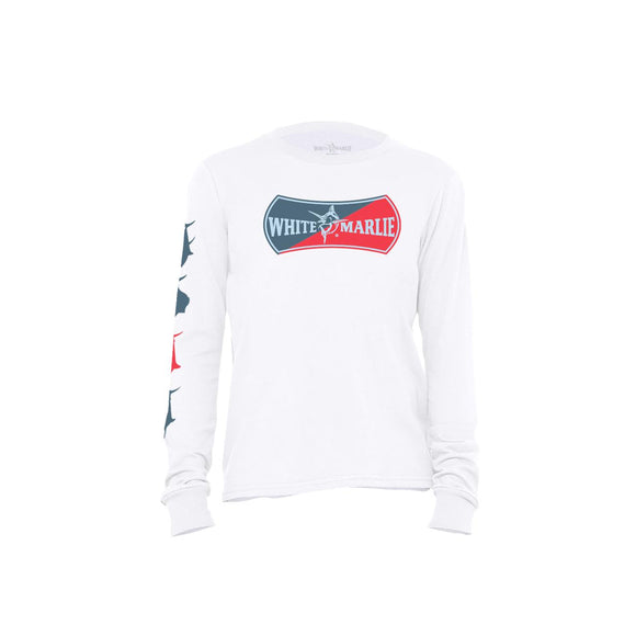 White Long Sleeve Youth T-Shirt
