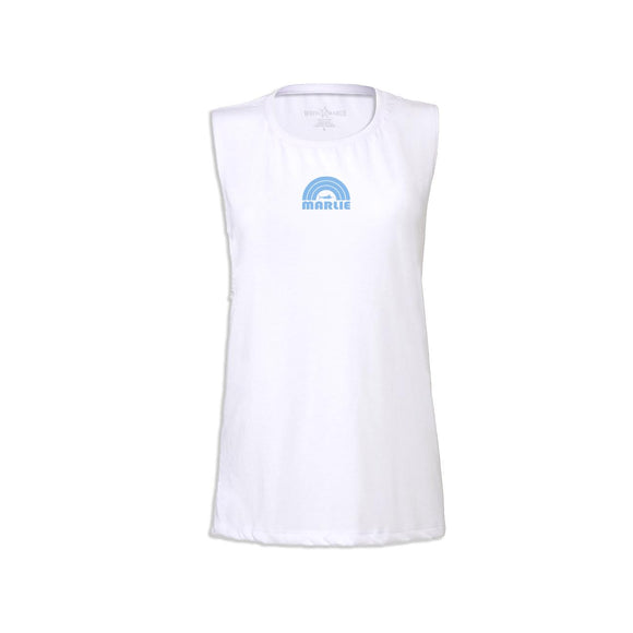 Women's White Marlie Tank